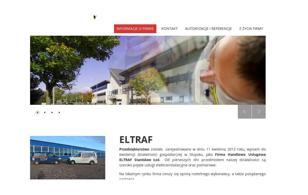 Przykładowa wizytówka www